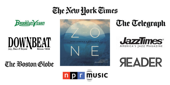 Into the Zone press logos
